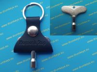 HARMONIC STOP Drum Key and Keychain