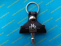 RBH Drum Key Keychain