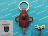 TACKLE Drum Key with leather keychain